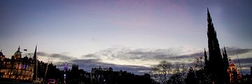 Purple Edinburgh | Panorama van