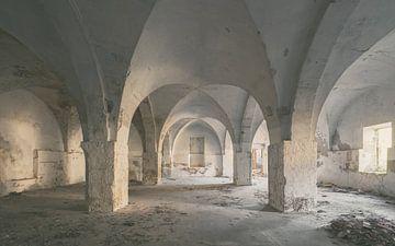 Verlaten plekken: textielfabriek 2 van Olaf Kramer