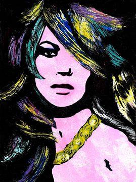 Merci Kate Moss sur Lucienne van Leijen