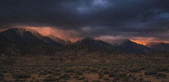Sierra Nevada Zonsondergang