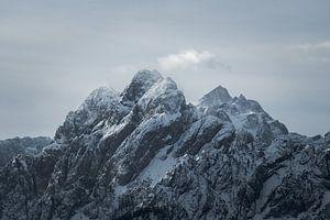 Winter in de  Alpen van Youri Zwart
