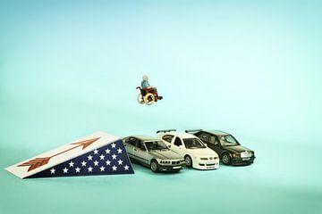 Evel Knievel's oude dag van