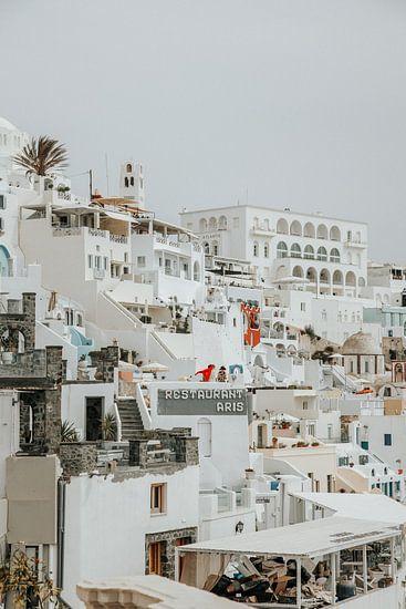 Fira, Santorini van Thomas Kuipers