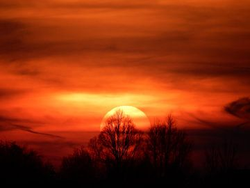 zonsondergang van bert jorritsma