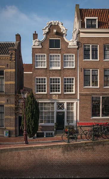 Amsterdams grachtenpand van Onno Feringa