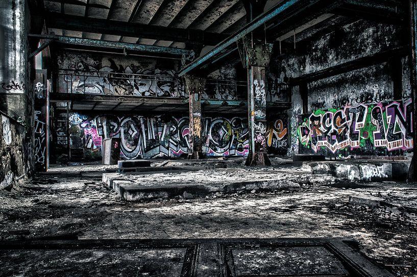 Fabriekshal Hasard van Julian Buijzen