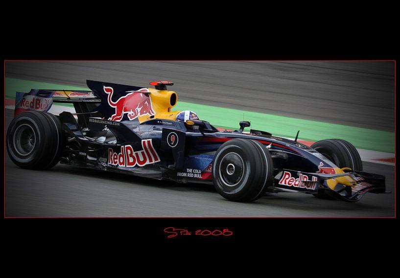 Fotobehang Formule 1.Formule 1 2008 Van Leo Van Valkenburg