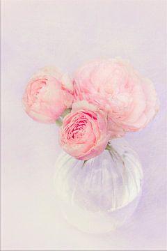 schilderij look met bloem vaas  von Marga Goudsbloem