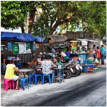 Straat leven in Bangkok von SPOOR Spoor