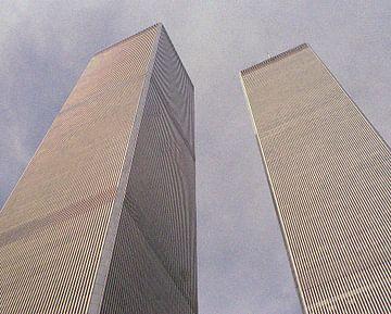 Twin Towers van Ronald Jansen