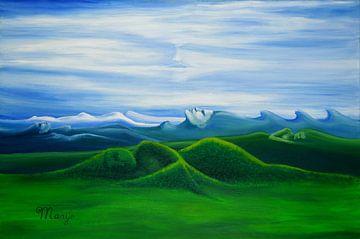 Eeuwig slapende bergen van