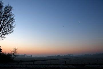 bunten Sonnenaufgang von Cora Unk