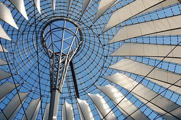 Roof of Sony Center Berlin von Maaike van der Horst