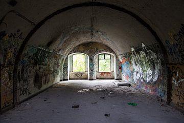 Fort de la Chartreuse - Geschiedenis en graffiti van Sebastiaan Lancel