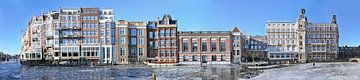 Amsterdam Amstel Panorama von