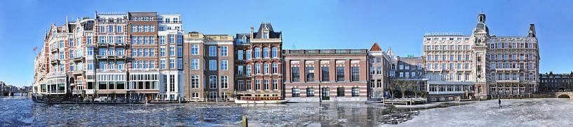 Amsterdam Amstel Panorama van Panorama Streetline