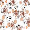 Digitale Blüten mit Spiralen  van Rosi Lorz thumbnail