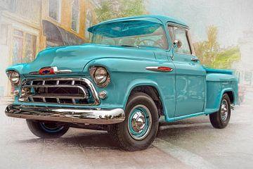 Chevy Pickup 3100 van Bill Posner