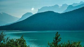 Lake Minnewanka van Henriëtte Wanders
