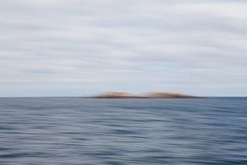 Verstild zeelandschap 2 van Jolanda Sprokholt