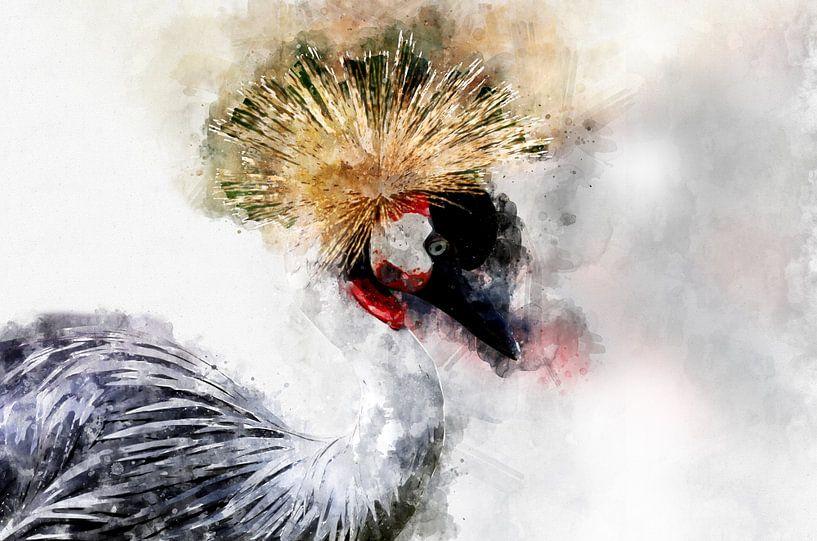 Kraanvogel van Monica Zimmermans