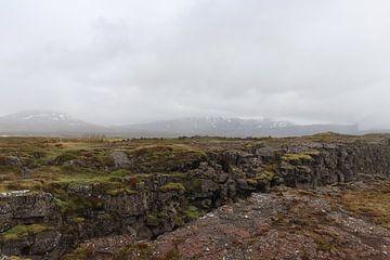 Isländische Mondlandschaft von Kimberley Fennema
