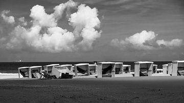 Strand van Katwijk sur
