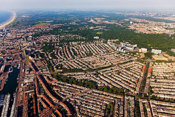 Luchtfoto Scheveningen