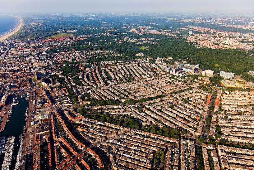 Luchtfoto Scheveningen von Anton de Zeeuw