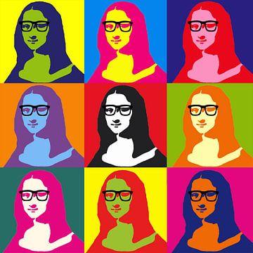 Hipster Mona Lisa von Didden Art