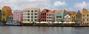 Handelskai Willemstad Curacao von Jolanda van Eek