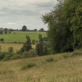 Panorama van de Schweiberg in Mechelen in Zuid-Limburg von John Kreukniet