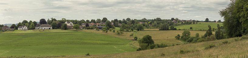 Panorama van de Schweiberg in Mechelen in Zuid-Limburg van John Kreukniet