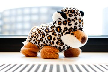 Schattige speelgoed tijger von André van Bel