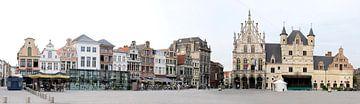 Grote Markt, Mechelen in België sur Cora Unk