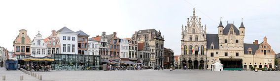 Grote Markt, Mechelen in België