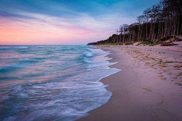 Abend am Strand auf Darß von Martin Wasilewski