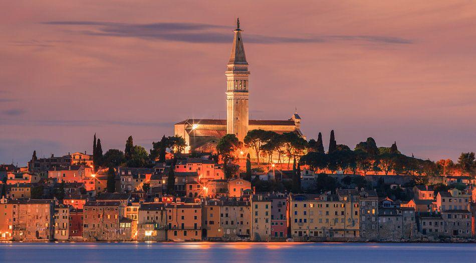 Rovinj is a city on the Istrian peninsula, Croatia