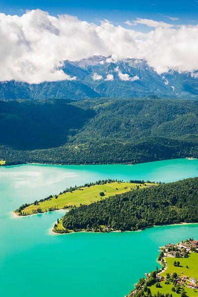 Lake Walchensee van Martin Wasilewski