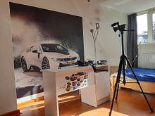 Kundenfoto: BMW i8 von Sytse Dijkstra, auf fototapete