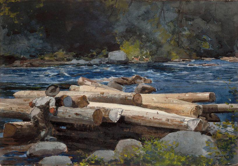 Winslow Homer River Hudson von finemasterpiece