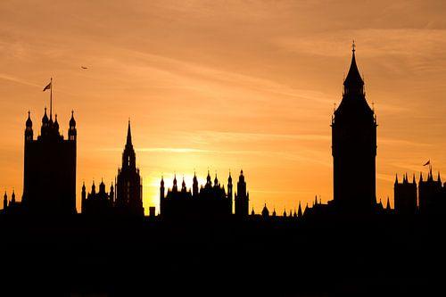 Big Ben sunset&silhoutte