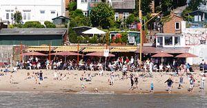 bij de rivier de Elbe