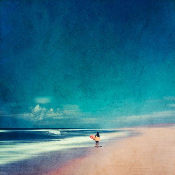 Zomerse dagen aan zee van Dirk Wüstenhagen