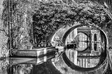 Grachten Utrecht von Henk Leijen