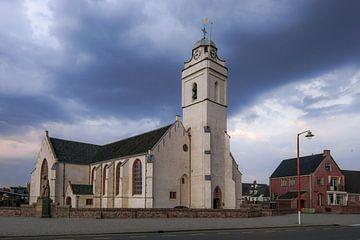 Oude kerk Katwijk sur Dirk van Egmond