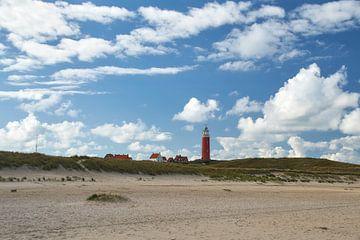 Vuurtoren Eierland, Texel van Ad Jekel