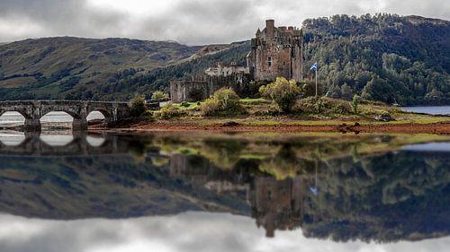 Écosse, château d'Eilean sur Edwin Kooren