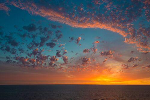 Zonsondergang bij Noordwijk aan Zee