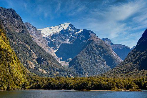 Cruise door Milford Sound, Nieuw Zeeland